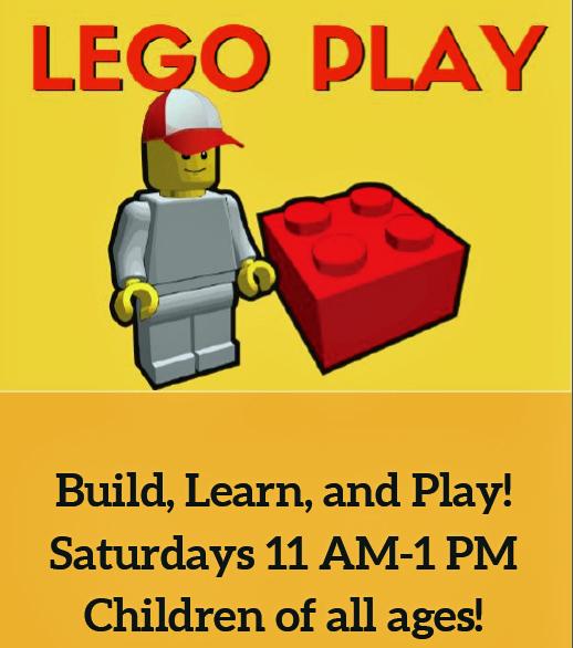 Lego flyer graphic