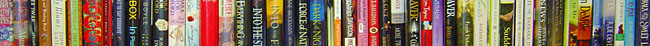 Book spines detail