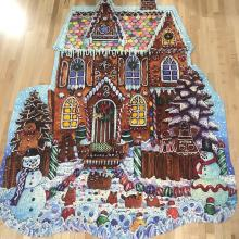 Picture of gingerbread house jigsaw puzzle