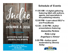 Indie Author Day at Prueter Library
