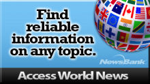 Access World News - Reliable Information on Unlimited Topics